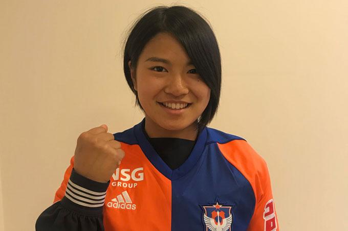 レディース・加藤 栞 選手(常盤木学園高)来季新加入内定のお知らせ