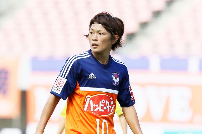 レディース 上尾野辺めぐみ選手 なでしこジャパン(日本女子代表)国内トレーニングキャンプメンバーに選出